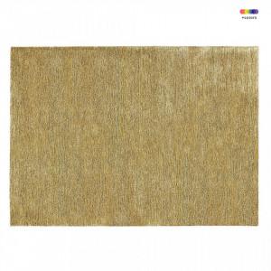 Covor galben din matase de bambus 300x400 cm Confetti Yellow Normann Copenhagen