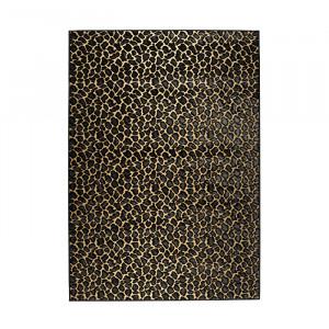 Covor galben/negru din viscoza si poliester 200x300 cm It's A Wild World Baby Bold Monkey