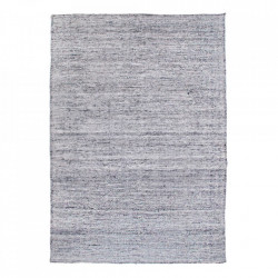 Covor gri din poliester si bumbac 200x300 cm Michigan House Nordic