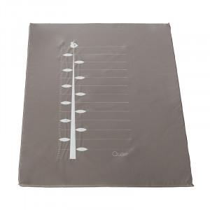 Covor joaca grej din PVC 72x93 cm Ali Ruler Quax