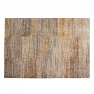Covor maro din lana si canepa 60x120 cm Dune Versmissen