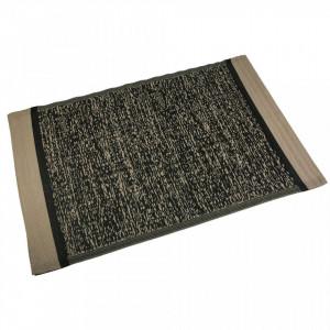 Covor maro/negru din polipropilena 120x180 cm Nicole Black Versa Home