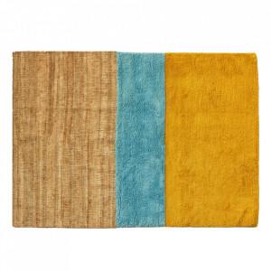 Covor multicolor din lana 170x240 cm Aerial Pols Tulip Pols Potten