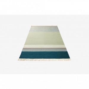 Covor multicolor din lana 240x170 cm Twine Petrol Mix Bolia