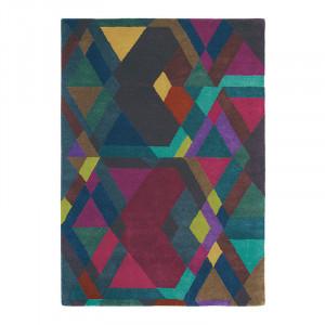 Covor multicolor din lana TB Mosaic-Dp-Pur Brink & Campman (diverse dimensiuni)