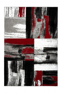 Covor multicolor din polipropilena Swing Red Lalee (diverse dimensiuni)