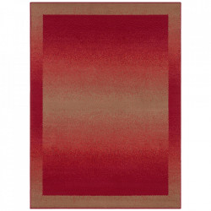 Covor rosu din polipropilena Retro Pattern The Home (diverse dimensiuni)