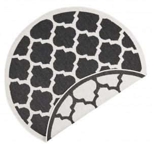 Covor rotud negru Twin Supreme Palermo Bougari (diverse dimensiuni)