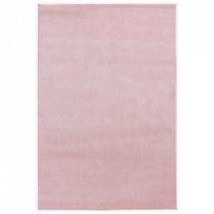 Covor roz din iuta si polipropilena Uni Livone (diverse dimensiuni)