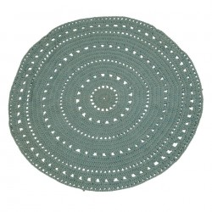 Covor verde menta din bumbac 120 cm Umaa Mint Zago