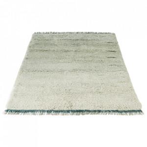 Covor verde menta din lana 170x240 Spinello Bolia