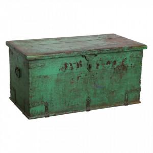 Cufar verde din lemn de tec Marina Raw Materials