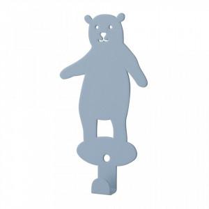 Cuier albastru din fier Bear Bloomingville