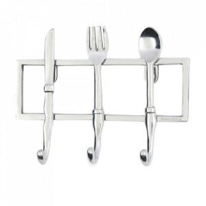 Cuier argintiu din aluminiu Kitchen Riviera Maison