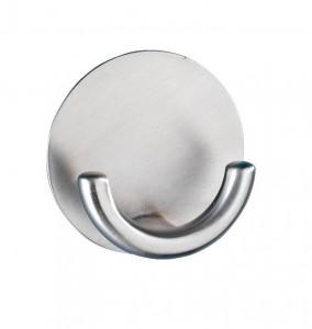 Cuier argintiu din inox Rondo Hook Wenko
