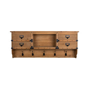 Cuier din lemn cu sertare Amador Dutchbone