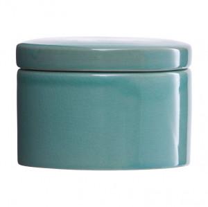 Cutie cu capac verde din ceramica Croz House Doctor