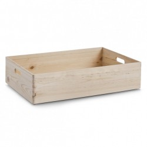 Cutie depozitare maro din lemn de pin 40x60 cm Soft Woo Zeller
