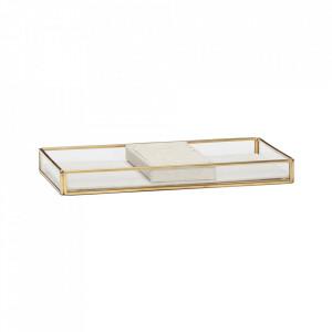 Cutie din alama si sticla pentru bijuterii Bell Hubsch