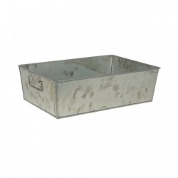 Cutie din metal 40x26 cm Crate Zinc Be Pure Home