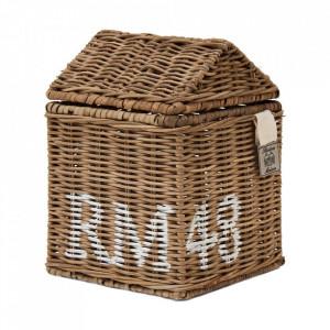 Cutie pentru servetele maro din ratan Adaliz Riviera Maison