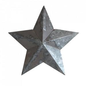 Decoratiune argintie din zinc 36 cm Stellar Raw Materials