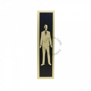 Decoratiune din aluminiu pentru usa Men Vintage Zangra