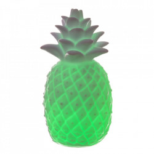 Decoratiune luminoasa alba din PVC si plastic Pineapple Unimasa