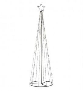 Decoratiune luminoasa LED neagra din metal pentru exterior Torn Tree Markslojd