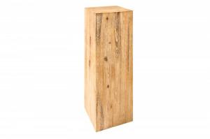 Decoratiune maro din lemn de salcam 75 cm Columna Invicta Interior