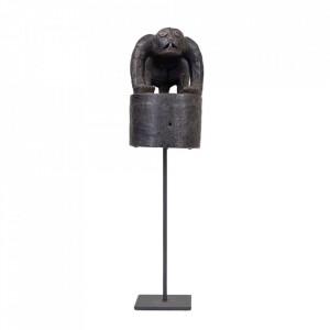 Decoratiune neagra din lemn 44 cm Hat From Enggano Versmissen