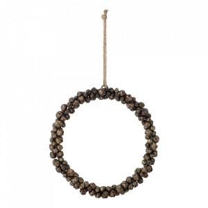Decoratiune suspendabila maro bronz din fier 3 cm Jenniver Bloomingville