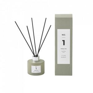 Difuzor cu betisoare parfumate din sticla 100 ml Parsley Lime Illume x Bloomingville