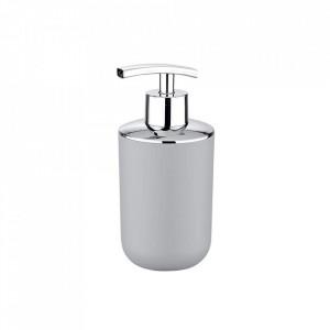 Dispenser gri/argintiu din plastic 320 ml Brasil Gray Soap Wenko