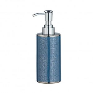 Dispenser sapun lichid albastru/argintiu din ceramica 300 ml Nuria Wenko