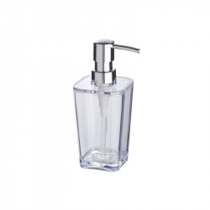 Dispenser sapun lichid transparent din polistiren 330 ml Candy Wenko