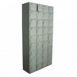 Dulap gri din fier 200 cm Locker Raw Materials