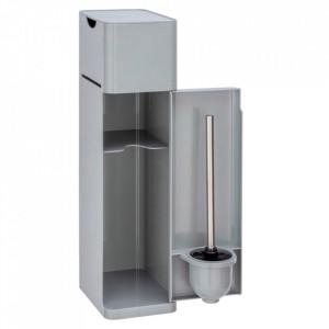Dulapior pentru baie gri din plastic Imon Wenko