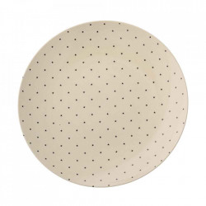 Farfurie alba din ceramica 25 cm Fanniy Bloomingville