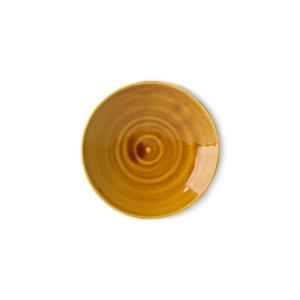 Farfurioara maro din portelan 13 cm Kyoto HK Living