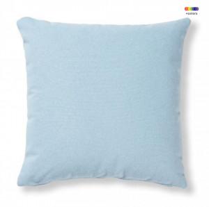 Fata de perna albastru deschis din textil 45x45 cm Mak Varese La Forma