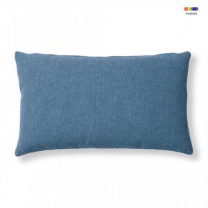 Fata de perna albastru inchis din textil 30x50 cm Mak Varese La Forma