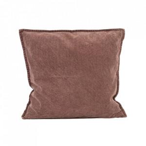 Fata de perna maro/rosie din bumbac 50x50 cm Kumv House Doctor