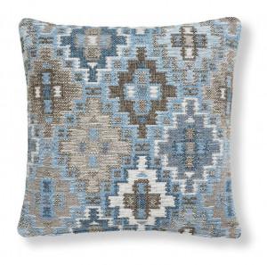 Fata de perna multicolora din textil 45x45 cm Cuzco Combination Blue La Forma