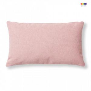 Fata de perna roz din textil 30x50 cm Mak Varese La Forma