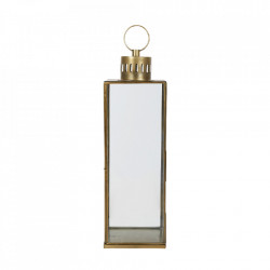 Felinar maro alama/transparent din fier si sticla 90 cm Adia LifeStyle Home Collection