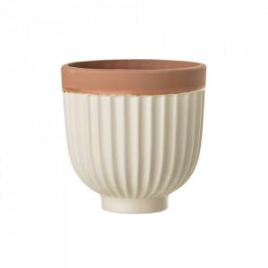 Ghiveci crem din ceramica 12 cm Nature Bloomingville
