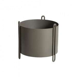 Ghiveci grej din metal 15 cm Pidestall Woud