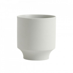 Ghiveci gri deschis din ceramica 18 cm Yuda Pot Nordal