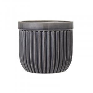 Ghiveci gri din ceramica 13 cm Salima Grey Bloomingville